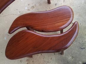 Ironbark leaf seats