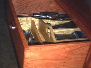 Catalpa tray insert