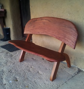 Ironbark garden furniture