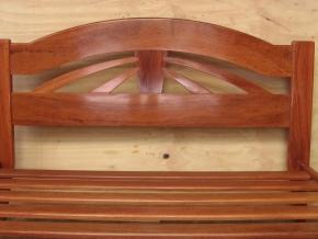 Ironbark and Casuarina bedhead, with ironbark frame and slats