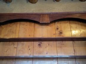 Allocasuarina detail, Callitris pine paneling, ironbark frame
